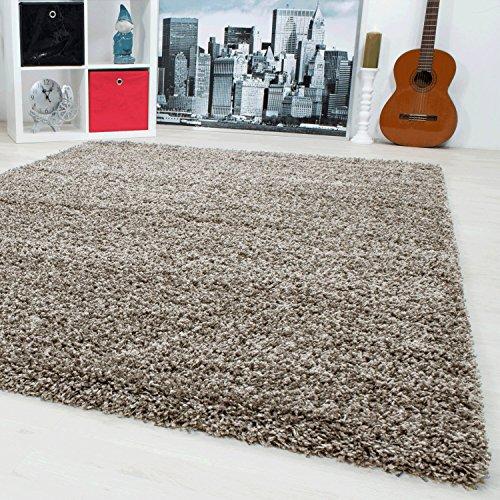 Shaggy Teppich Hochflor Langflor Teppiche Wohnzimmer