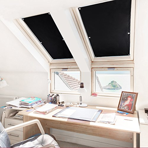 purovi thermo sonnenschutz f r dachfenster hitzeschutz. Black Bedroom Furniture Sets. Home Design Ideas