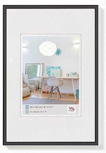 Walther Design KV040B New Lifestyle Kunststoffrahmen, 30x40 Cm, Schwarz