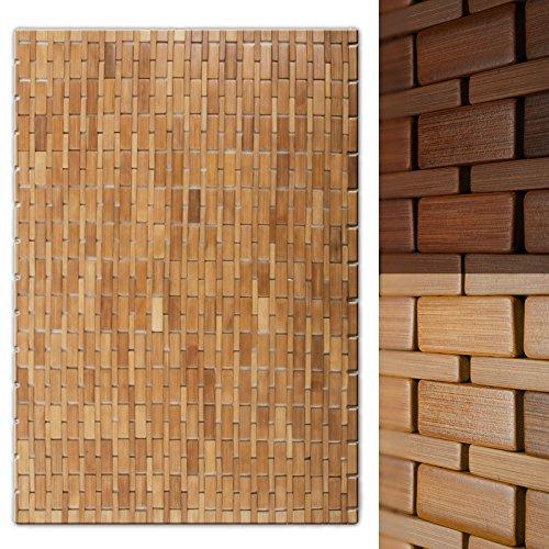 casa pura® Bambusmatte Mia | Badematte & Saunamatte aus Bambus ...